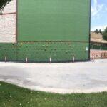 Pintura de protección para muros de hormigón